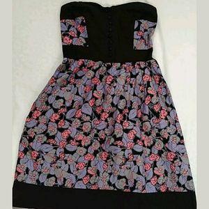 KIMCHI Blue size 0 Strapless Dress